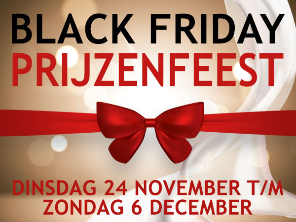 Black Friday bij Mode Smulders