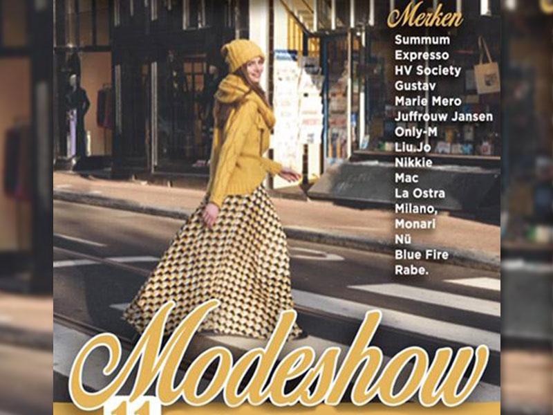 Modeshow in september bij Mode Smulders